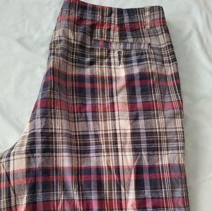 Faded Glory Plaid Shorts
